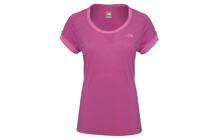 The North Face Women's Horizon Tee fuschia pink